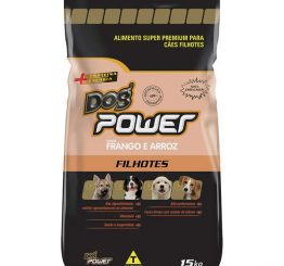 DOG POWER SUPER PREMIUM CÃO FILHOTE 15KG