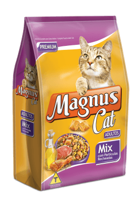 MAGNUS GATO ADULTO MIX COM NUGGETS 10,1KG